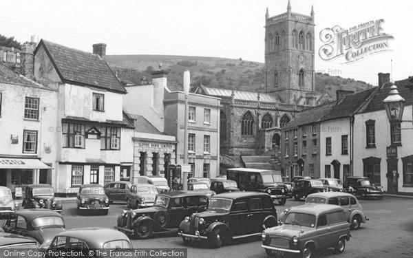Axbridge, Market Place 1959