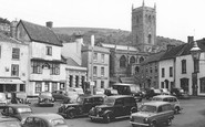 Axbridge, Market Place 1959