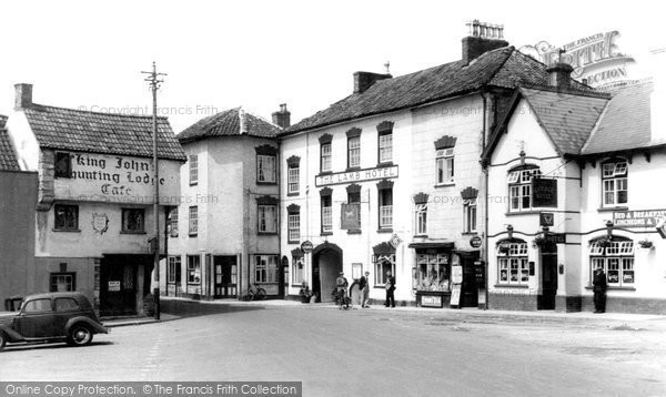 Axbridge, Market Place c.1950