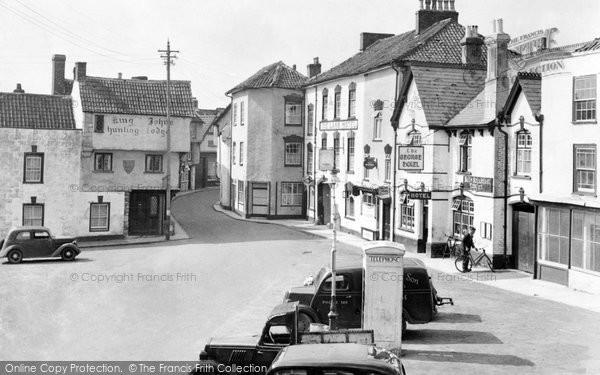 Axbridge, Market Square c.1950