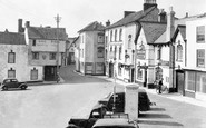 Axbridge, Market Square c.1950