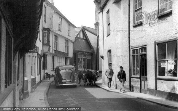 Axbridge, Old Town c.1939