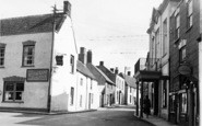 Axbridge, St Mary's Street c.1955