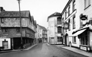 Axbridge, The Square And High Street c.1960