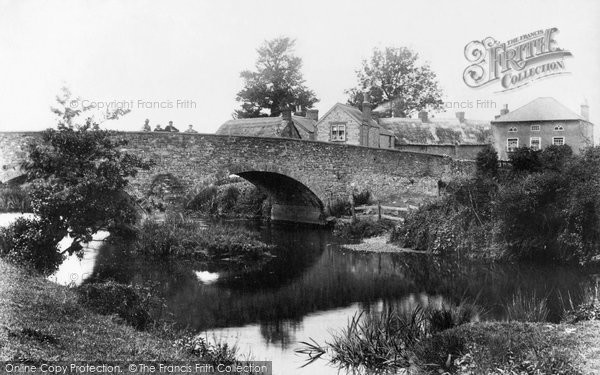 Axminster, Gates Bridge 1902