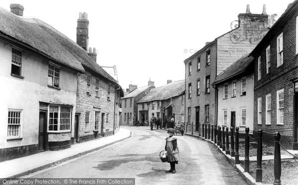 Axminster, South Street 1902