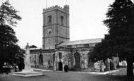 Axminster, St Mary's Church c.1955