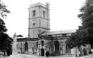 Axminster, St Mary's Church c.1960