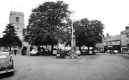 Axminster, Trinity Square c.1960