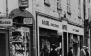 Axminster, Trinity Square Shops c.1955