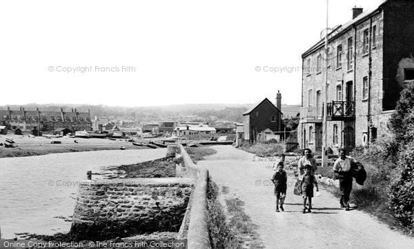 Axmouth, Harbour Entrance c.1955