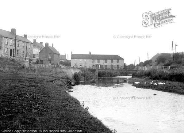 Aycliffe, River Skerne c.1955