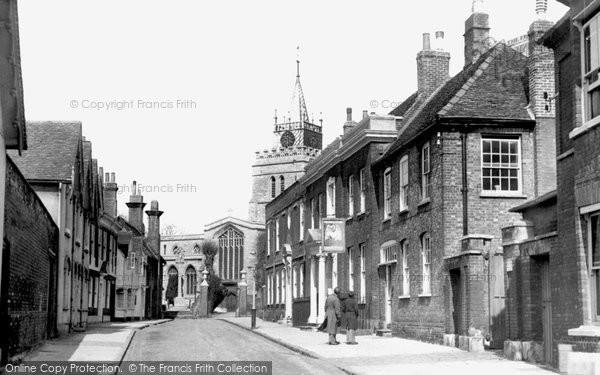 Aylesbury, Church Street c.1955