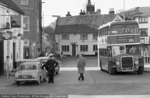 Aylesbury, Double Decker Bus c.1960