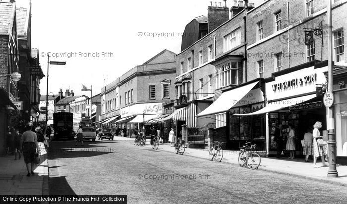Photo of Aylesbury, High Street c1955