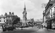 Aylesbury, Market Square c.1950