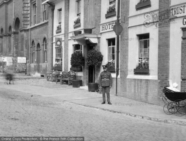 Aylesbury, Soldier 1921