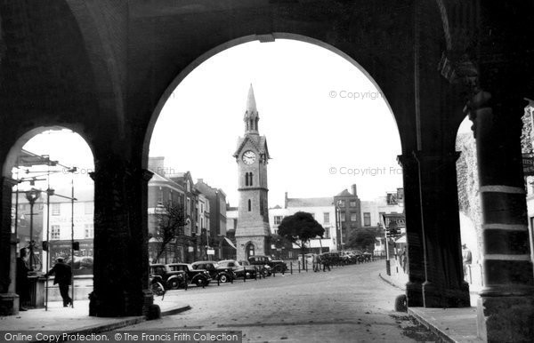 Aylesbury, The Market Place c.1950