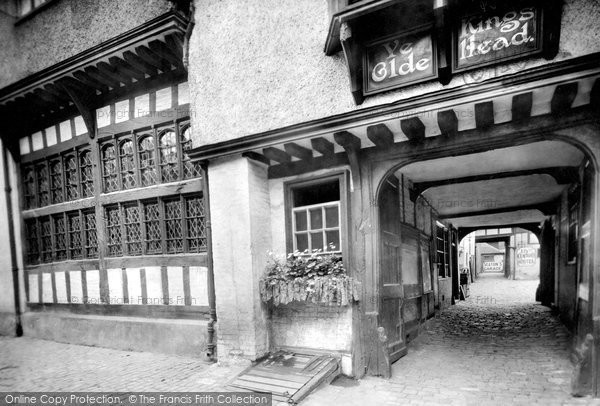 Aylesbury, The Old King's Head Hotel 1921