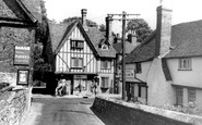 Aylesford, Bridge And High Street c.1960