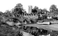 Aylesford, From The Riverwalk c.1955