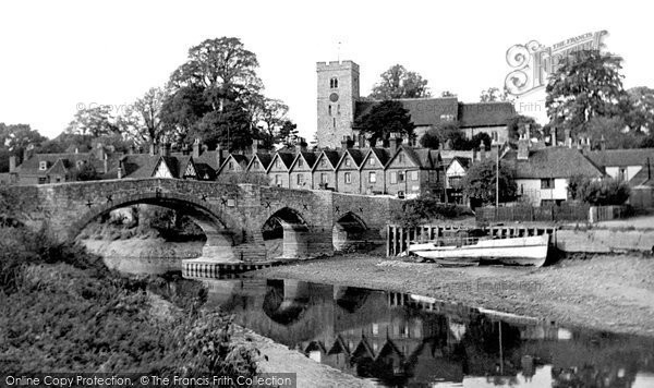 Aylesford, From The Riverwalk c.1960