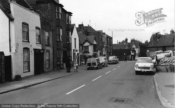 Aylesford, High Street 1961