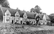 Aylesford, The Almshouses c.1960