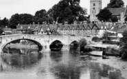 Aylesford, The Bridge And Church c.1960