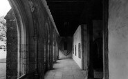Aylesford, The Friars, Cloisters c.1960