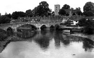 Aylesford, The River Medway c.1960