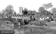 Aylesford, Village And Bridge c.1960