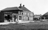 Aylesham, Dorman Avenue, Shops And The Greyhound c.1955