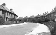 Aylesham, Milner Crescent c.1955