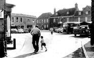 Aylsham, Market Place And Hotel c.1965