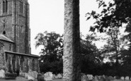 Aylsham, Memorial c.1965