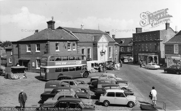 Aylsham, The Market Place c.1965