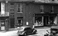 Aylsham, Ward & George Ladies Outfitters c.1952