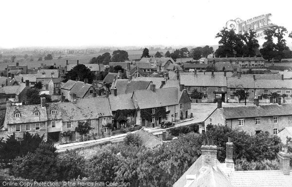Aynho, View From The Church Tower c.1955
