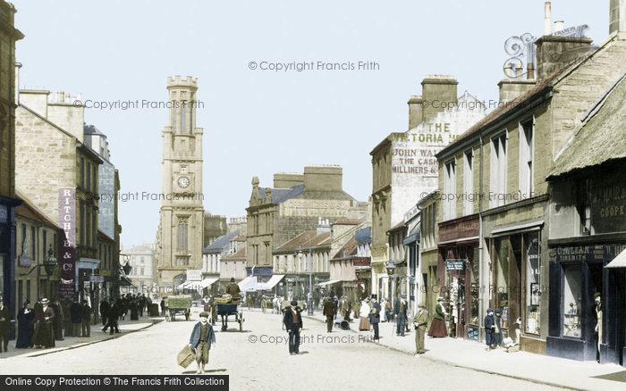 Photo of Ayr, High Street 1900