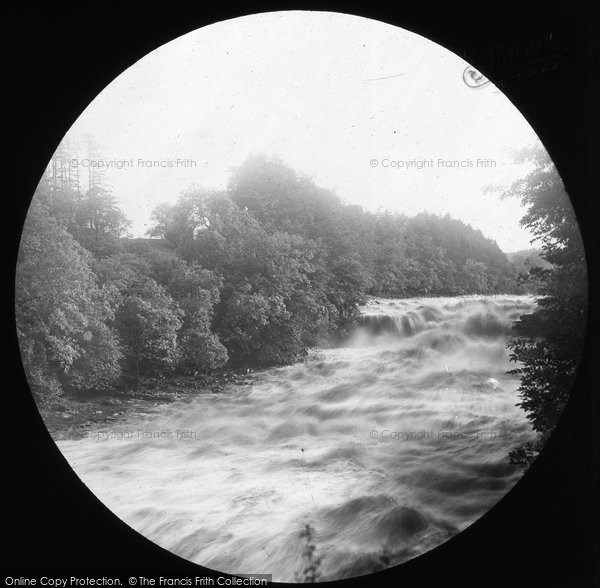 Aysgarth, Foss, Lower Falls 1887