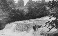 Aysgarth, Middle Falls c.1955