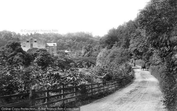Aysgarth, Mill And Bridge 1909