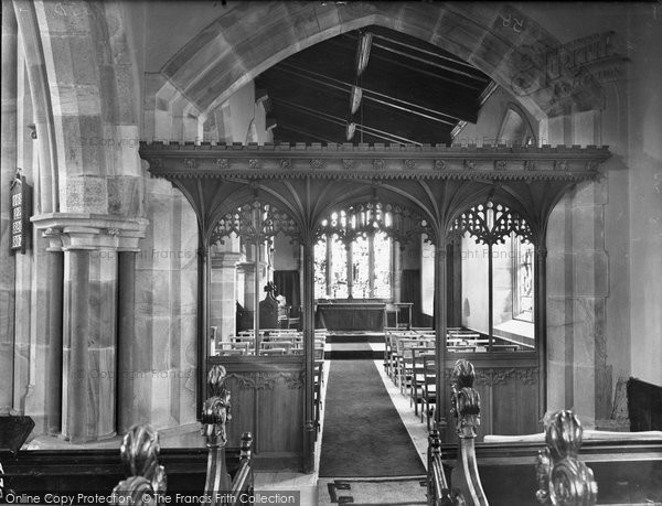 Aysgarth, Parish Church, Memorial Chapel 1925