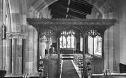 Aysgarth, Parish Church, Memorial Chapel 1925