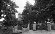 Aysgarth, St Andrew's Parish Church And Memorial Gates 1924