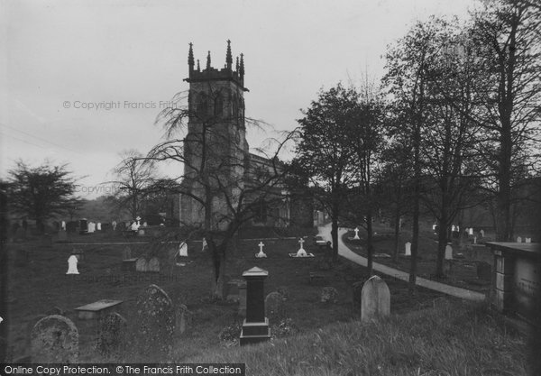 Aysgarth, St Andrew's Parish Church c.1935