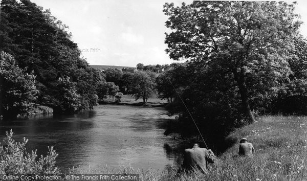 Aysgarth, The River c.1960