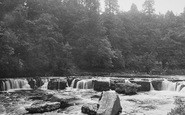 Aysgarth, Upper Falls 1887