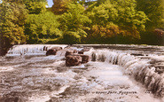 Aysgarth, Upper Falls c.1960